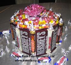Chocolate Bar Centerpieces