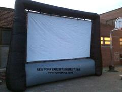 17'x15' Outdoor Movie Screen